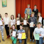 Zwycięzcy II Miniolimpiady Języka Polskiego na Litwie